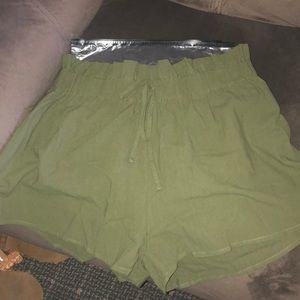 Army Green Shein Shorts